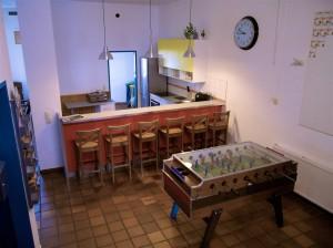 Das Jugendzentrum Freistadt bietet gratis Poolbillard und Tischfußball.