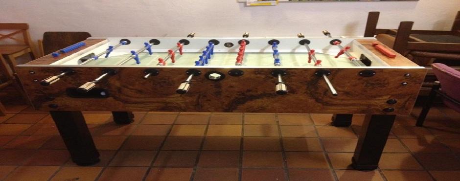 <h1>Jugendzentrum: Tischfußball im Speicher</h1><p>Ein Tischfußball sorgt im JUX für Spaß und Action</p>